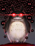 ほら振り向いてごらんトトロが笑ってるよ ニッコリ(╹◡╹)