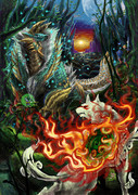 太陽神と月夜の狩人