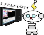 でんぱくんが動画紹介放送