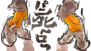 【けいたんと暴徒】パンダヒーロー描いていた【from DDD】
