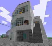 【Minecraft】で ニコニコ本社 を【作ってみた】