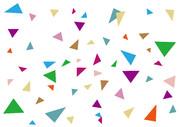 【背景素材13】三角1