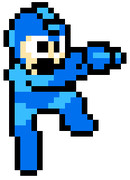 【ペイント】ジャンプバスター【初代ロックマン】