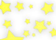 【背景素材156】星8(背景透過)