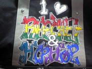 I ❤ REGGAE & HIPHOP (Graffiti)