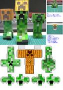 【ペーパークラフト】Explode or Renovation【Minecraft】