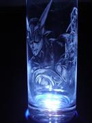 ZETMAN手彫りグラス