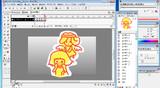 201112090328_Flashアニメ制作風景