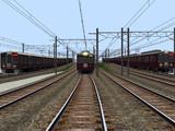 阪急新年HM3線同時発車