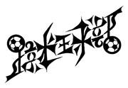【アンビグラム】蹴球部【点対称】