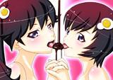 お兄ちゃん・・・バレンタインチョコ一緒に食べよ・・・
