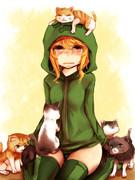 猫に弱いのクリーパーカー