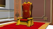 【MMDギアス】ブリタニア皇帝椅子【アクセサリ配布】