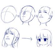 顔のアタリ