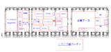 ニコニコ超会議 簡易マップ(文字と線で公式を再現してみた)
