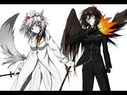 白の狼・黒の鴉(スーツ.ver)
