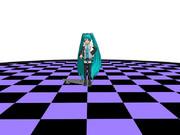 【MMD-OMF2】円形床ステージ