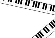 【背景素材251】鍵盤8