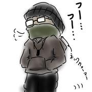 冬の間の散歩は寒くて仕方がないので