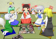 【例大祭9L-41b】東方幻想遊戯盤【支援】
