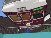 うるせぇ、阪急電車ぶつけんぞ!