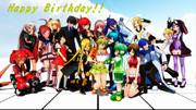 Happy Birthday!! GUMI