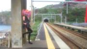 【俺のテトさんが】第2回超かわいいテトさん選手権【完全に間違っている】青海川駅にて 2