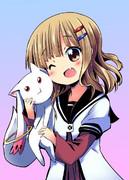 櫻子とキュゥべえ