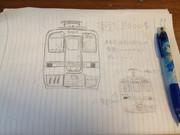 東武8000系を描いてみた
