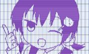 まりちゃんをピアノロールで描いてみた