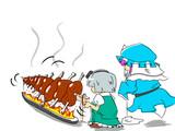 ユクモ名物十連肉焼き