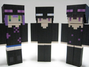 【Minecraft×ペパクラ】エンダーパーカー3種作ったんです