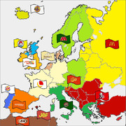犯ヴァーガー勢力図(ヨーロッパ)