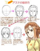 【講座】アスナの描き方