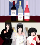 【MMD】豊穣祭ワインセット配布