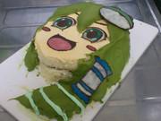 一応X'mas早苗ケーキ作ってみた