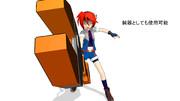 【MMD】メガ工具No.001 レンチブレード その4