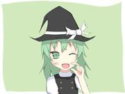 魔理沙コスの葉ーちゃん
