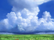 夏の遠雷――フリー素材