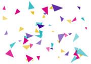 【背景素材277】三角2