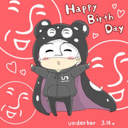 アンさんお誕生日おめでとう(`・ω・´)