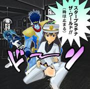 【MMD】ぬー太郎 vs シアーハートアタック【ジョジョm@s】