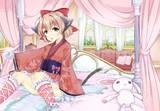 ケモっ子×和服ロリィタ