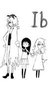 ib [化物語ED風]