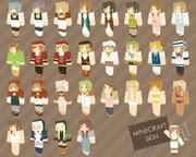 Minecraft NPCスキン
