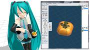 【MMD】柿に見える?