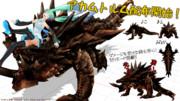 【MMD-OMF3】銀獅式アカムトルム【配布開始!】
