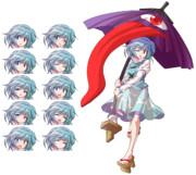 小傘立ち絵 表情差分