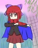 【東方輝針城】赤蛮奇ちゃん【らくがき】