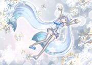 【初音ミク】It's a snow world【オリジナル】
